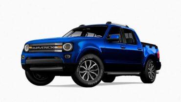2022 Ford Maverick render