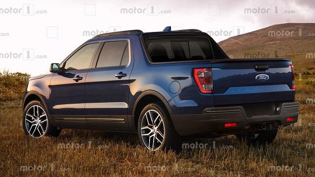 2022 Ford Maverick rendering photo