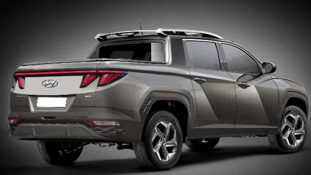 2022 Hyundai Santa Cruz rendering
