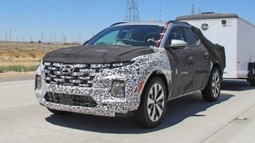2022 Hyundai Santa Cruz spy shot