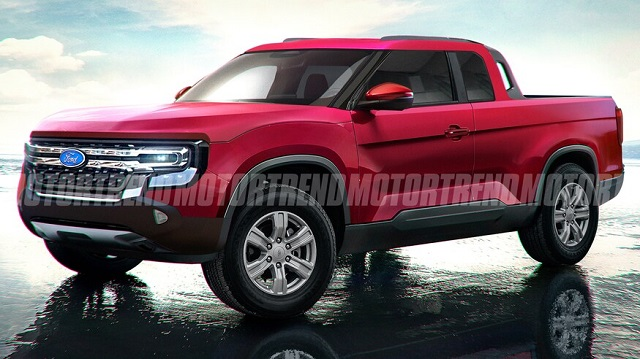 2022 Ford Courier Render