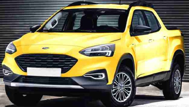 2022 Ford Courier rendering photo