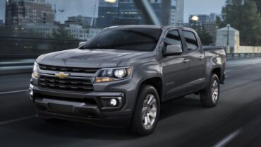 2022 Chevrolet Colorado release date