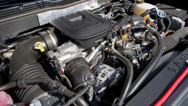 2022 Chevy Silverado 2500HD engine
