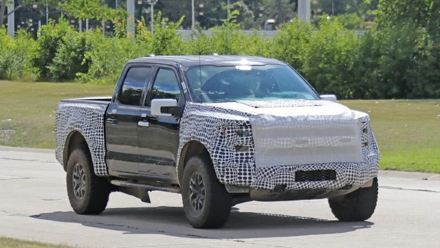 2022 Ford F-150 spied