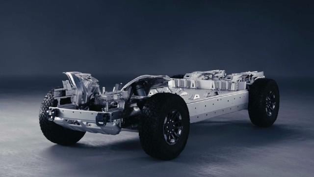 2022 GMC Hummer EV platform