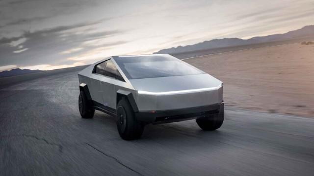 2022 Tesla Cybertruck design