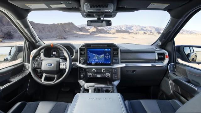 2022 Ford F-150 Raptor Interior