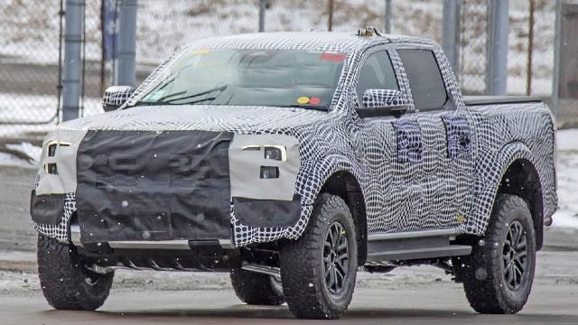 2022 Ford Ranger Raptor redesign