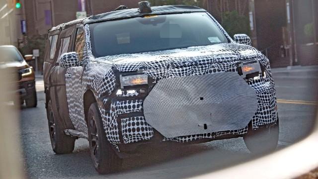 2022 Ford Maverick Hybrid spied