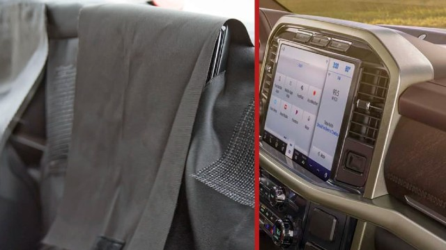 2022 Ford F-150 EV interior