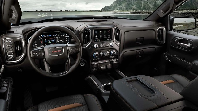 2022 GMC Sierra AT4 interior