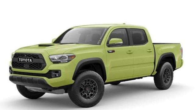2022 Toyota Tacoma TRD Pro Lime