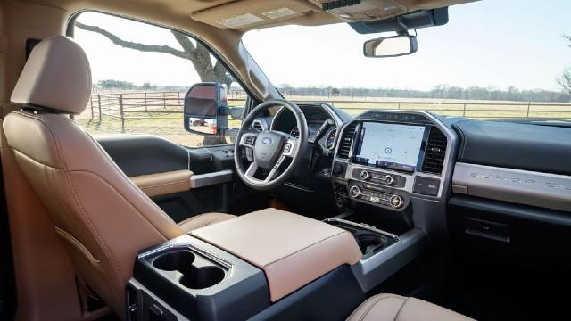 2022 Ford F-Series Super Duty interior