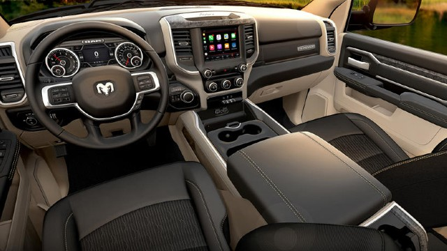 2022 Ram 2500 interior