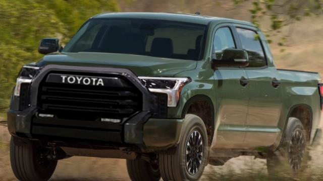 2023 Toyota Tundra leak
