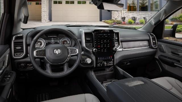 2024 RAM Dakota interior