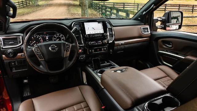 2023 Nissan Titan XD interior
