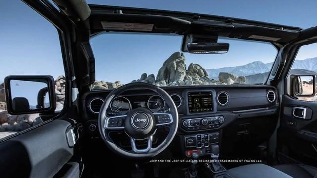 2023 Jeep Gladiator 4xe interior