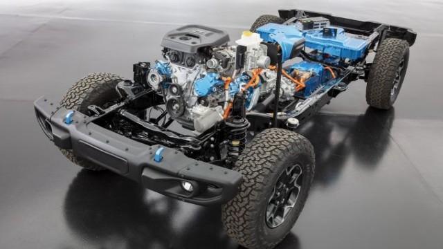 2023 Jeep Gladiator 4xe specs