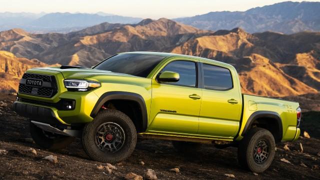2023 Toyota Tacoma colors