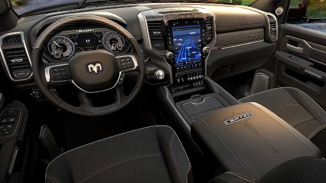 2023 Ram Heavy Duty interior